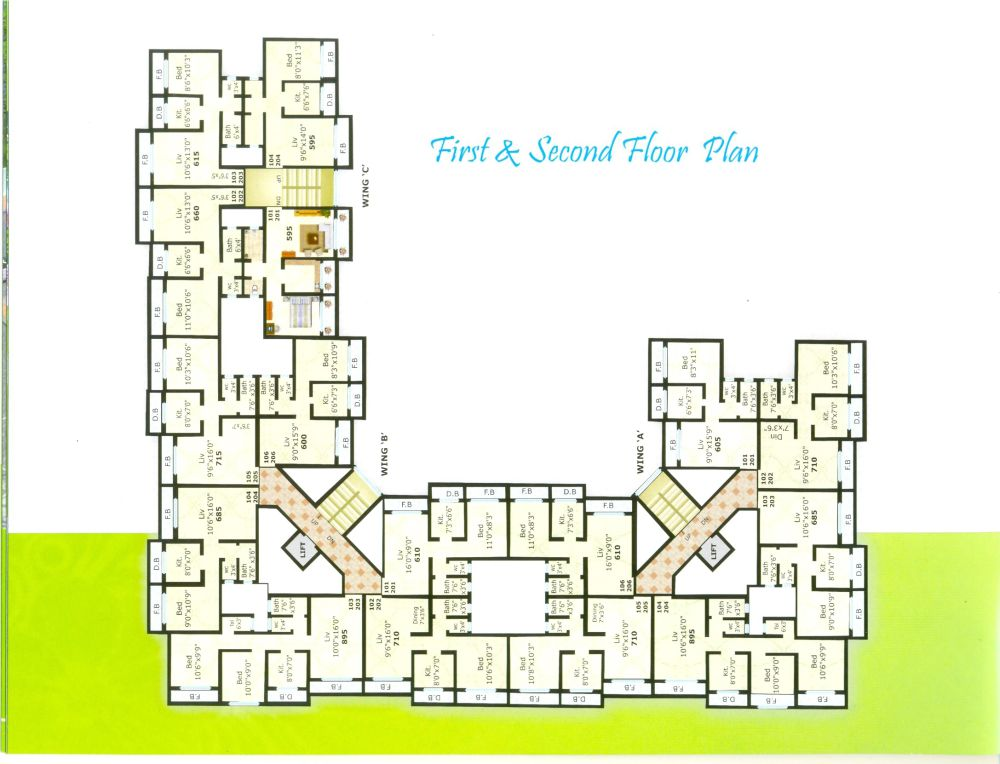 Gokul Residency First & Second Floor - Palghar West, India