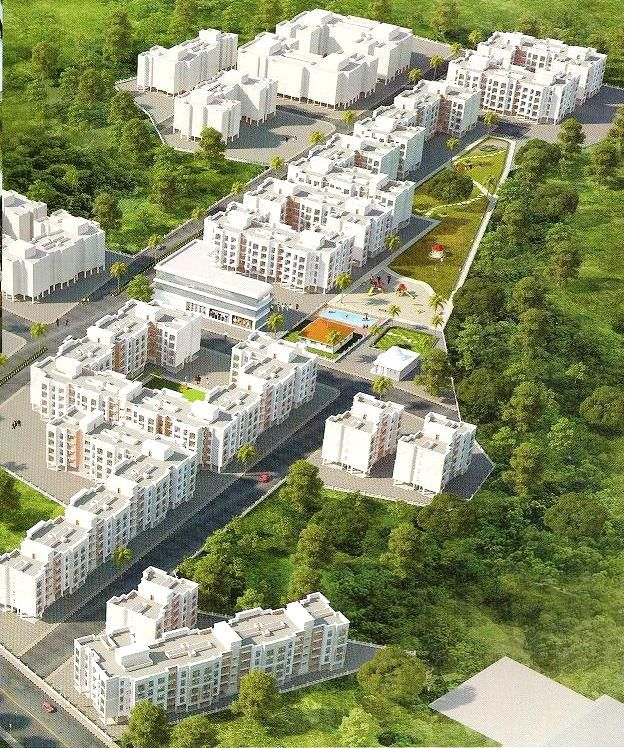 Vardhman Nagar Elevation - Palghar West, India
