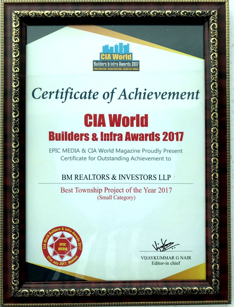 BMRI-Achievement-Best-Township-Project-Certificate