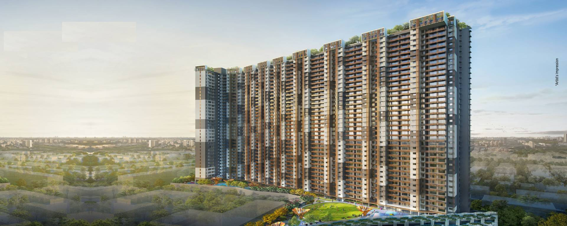 Park Aspiria By Chandak Group - Goregaon West, Mumbai | No Brokerage | World Class Amenities | 2 BHK Flats | 2 BHK Jodi Flats | 3 BHK Flats